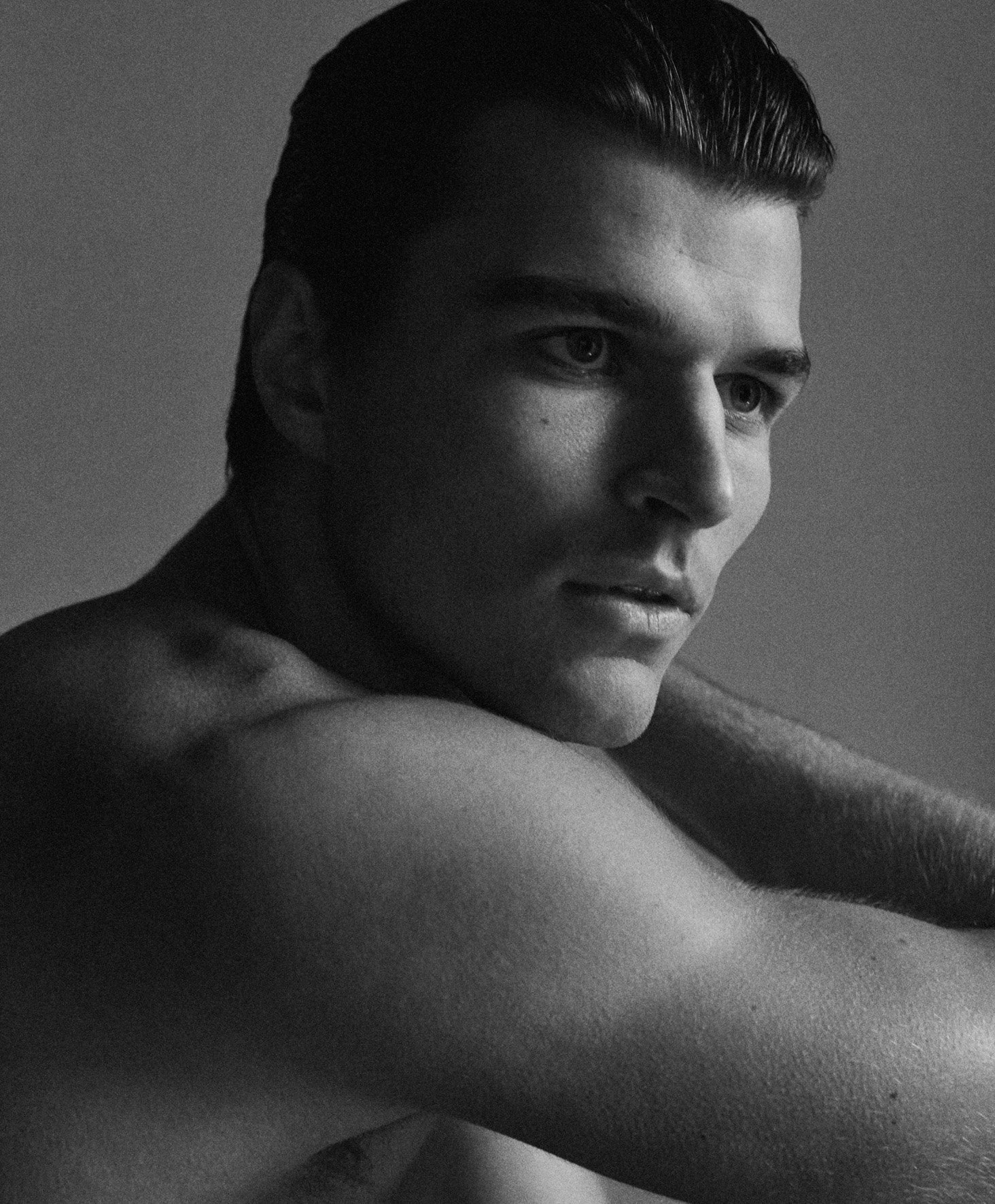 Arran Sly Unsigned Group Top Model cesar perin