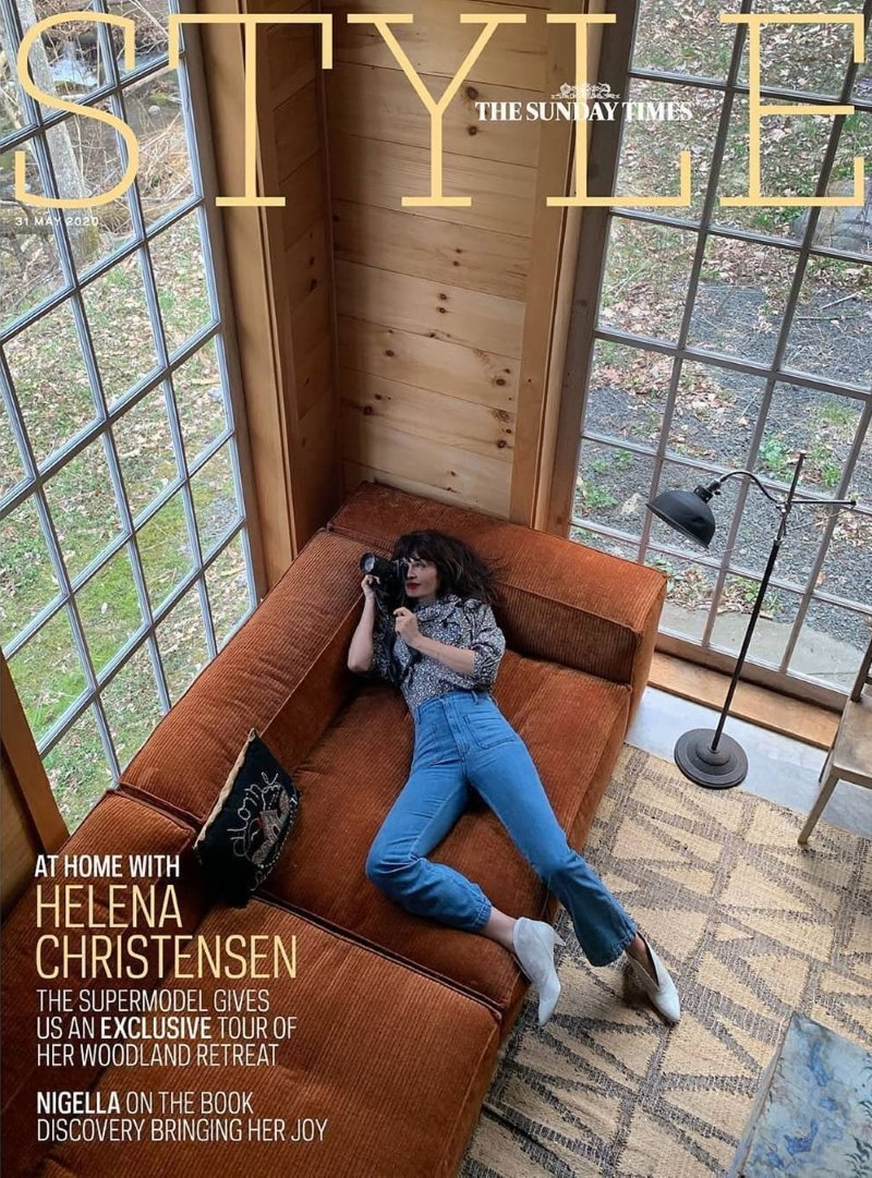 Helena-Christensen-covers-The-Sunday-Times-Style-May-31st-2020-by-Helena-Christensen-photographer
